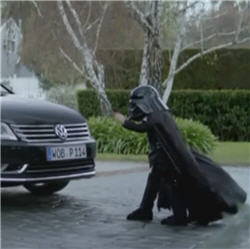 Virales Video von VW mit Darth Vader