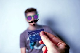 Guerilla Marketing Visitenkarten