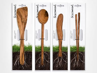Holzlöffel als Naturprodukt