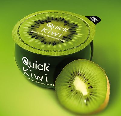 Kiwi Frucht Verpackung