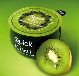 Kiwi Verpackung mit Effekt