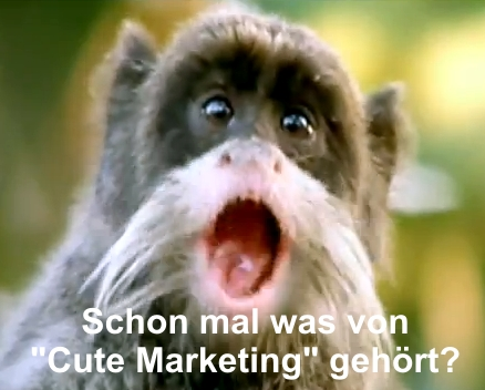 Cute Marketing ach wie niedlich