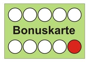 Bonuskarten zur Kundenbindung