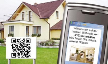 QR Codes bieten mehr Informationen über Immobilien