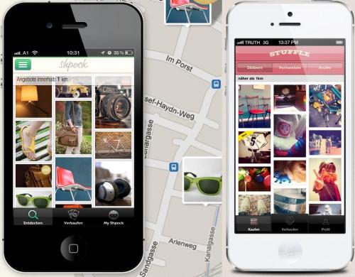 Smartphone Apps für Kleinanzeigen wie Shpock & Stuffle werden immer beliebter