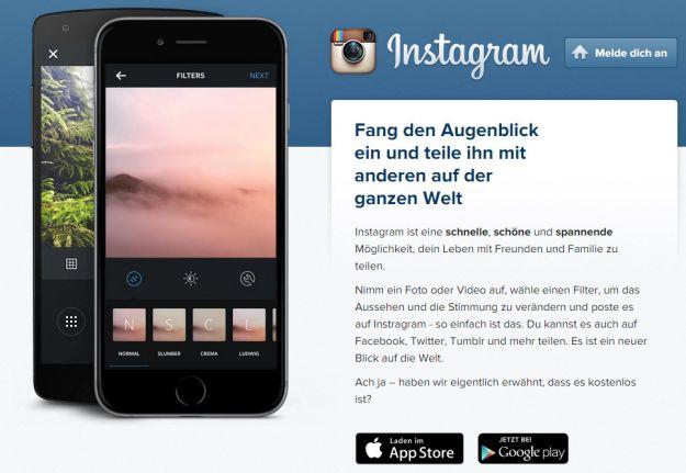 instagram-account-anlegen